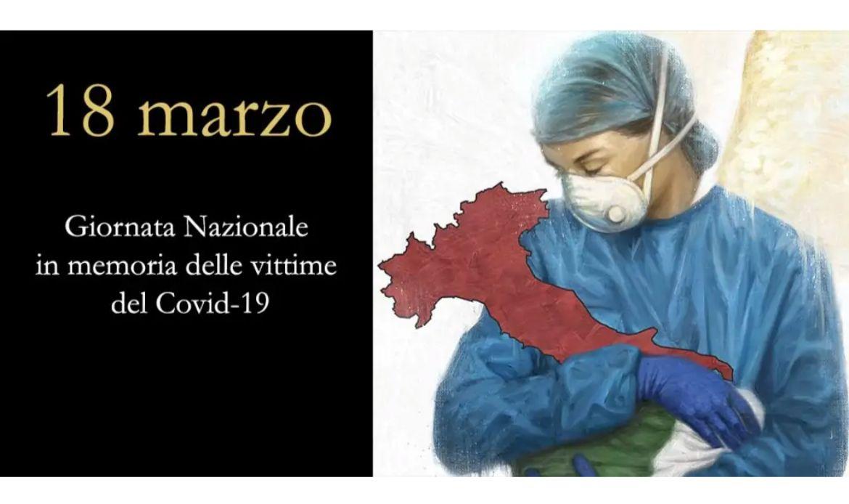 """18 Marzo 2021 """"Giornata nazionale in memoria delle vittime del Covid-19"""""""