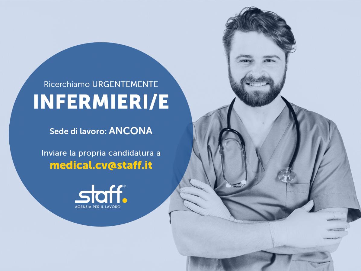 Staff.it ricerca Personale Infermieristico per strutture medico private ed Rsa